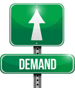Demand sign